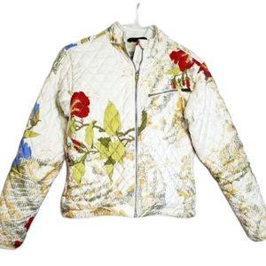 Obermeyer Floral Quilted Jacket